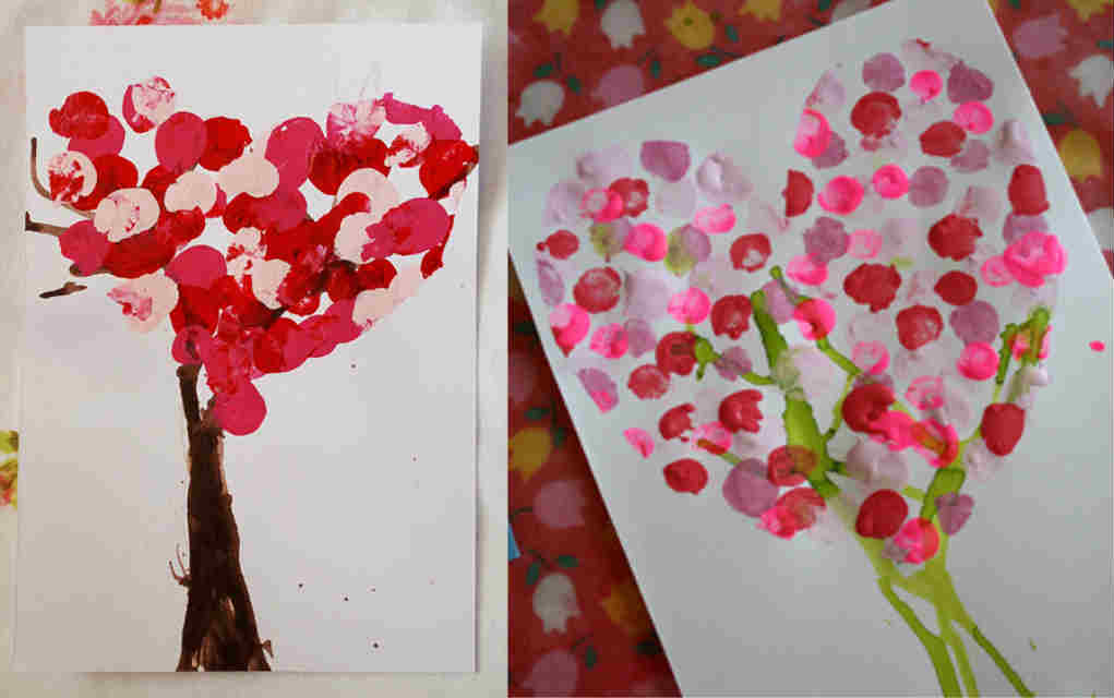 Valentine heart craft for Valentine Crafts for Toddlers