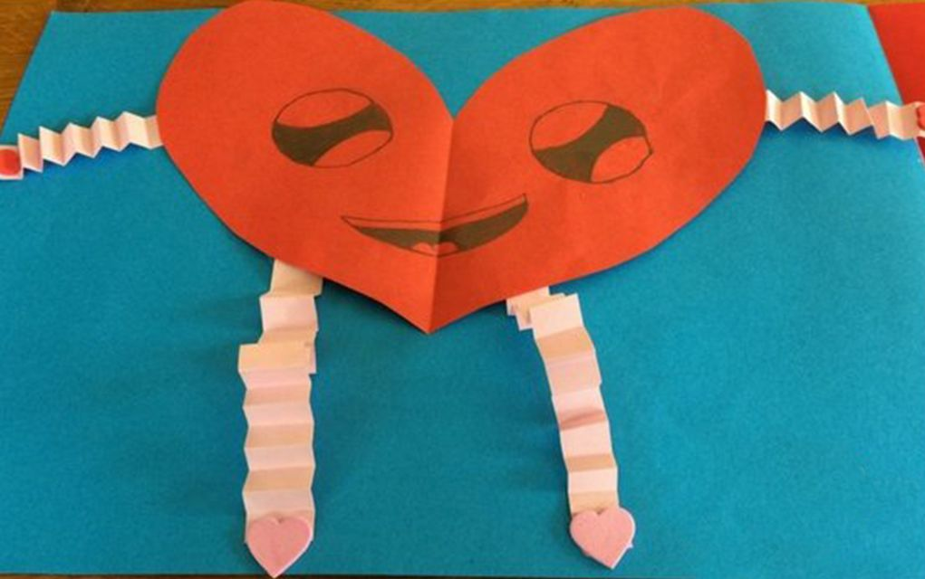 Valentine Crafts for Kids Heart
