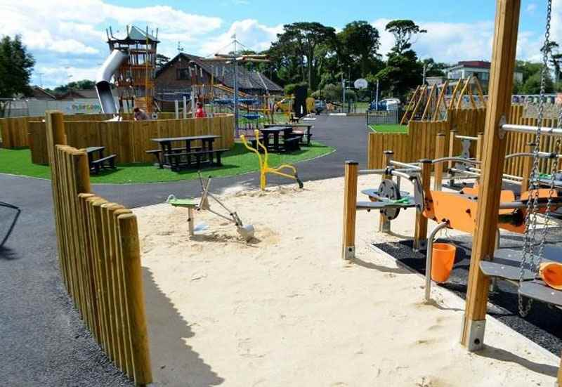 greystones south beach playground
