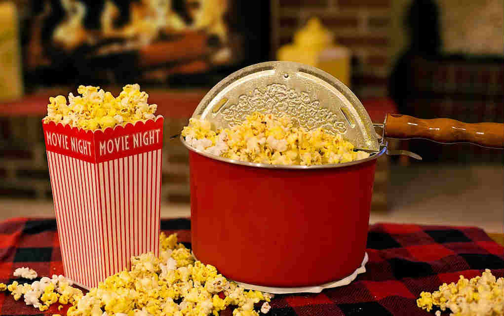 Movie night - Mykidstime date night ideas