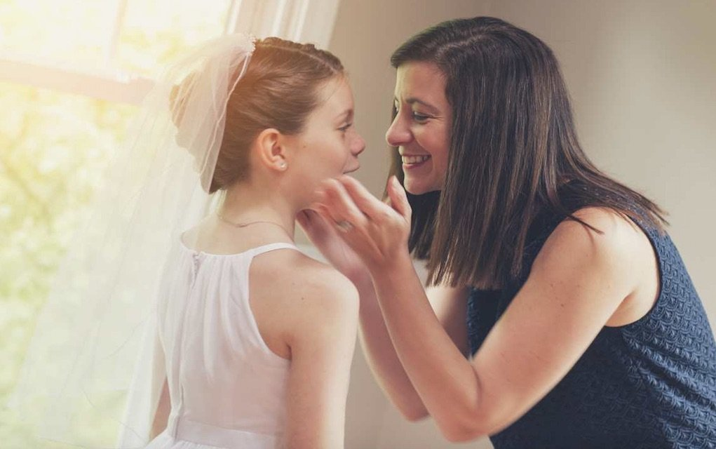 reasons you know you are mum to a first communion child