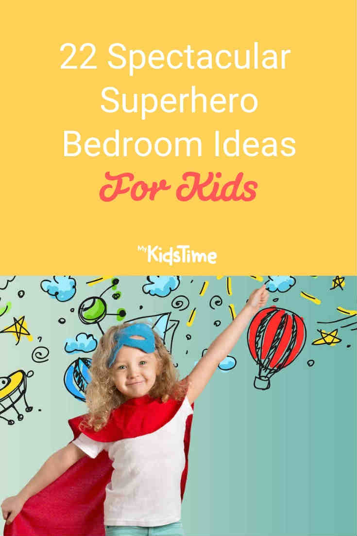 22 Spectacular Superhero Bedroom Ideas for Kids - Mykidstime
