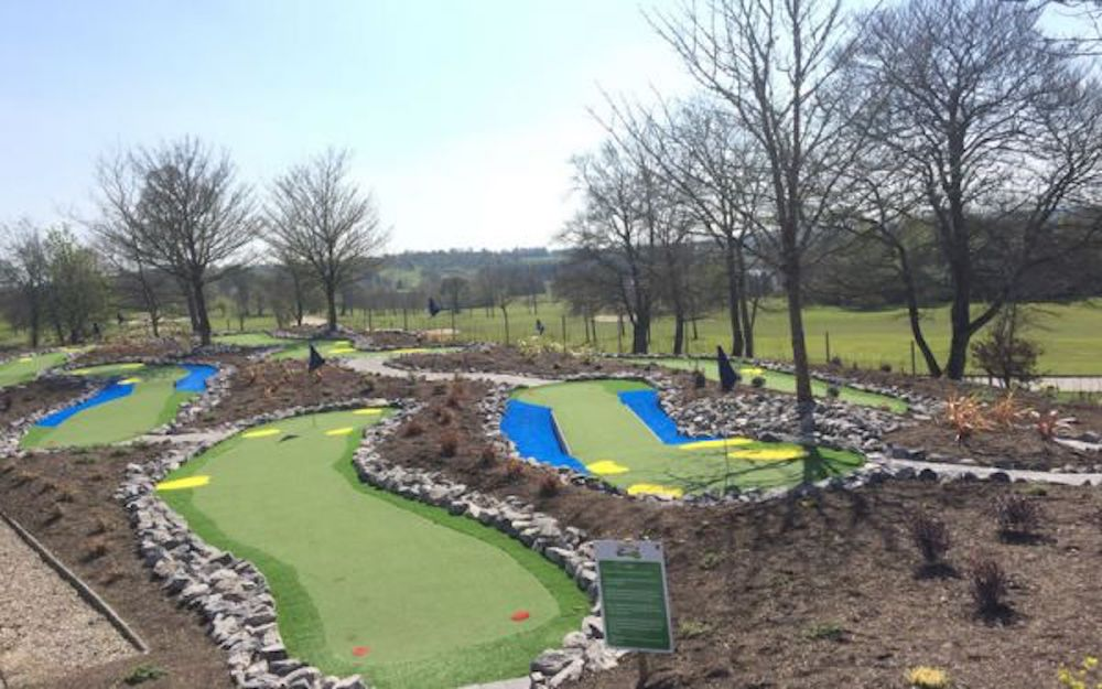 Adventure Golf Course at the Slieve Russell Hotel hotels in Ireland with family activities