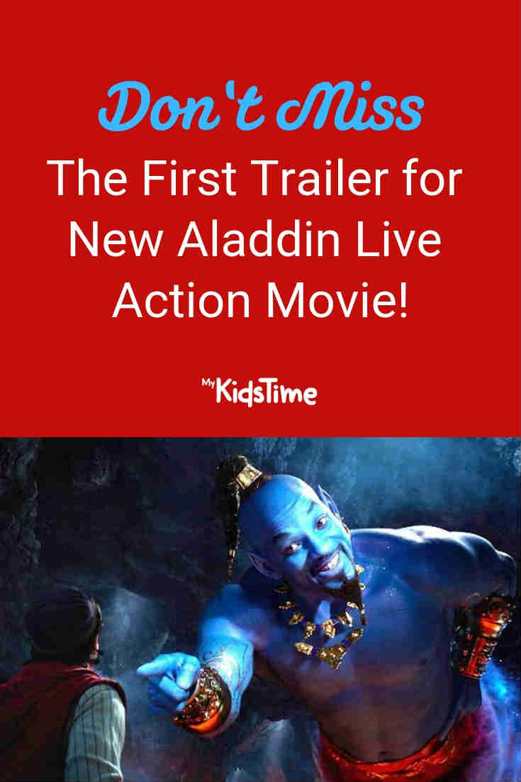 New Disney Aladdin live action movie - Mykidstime