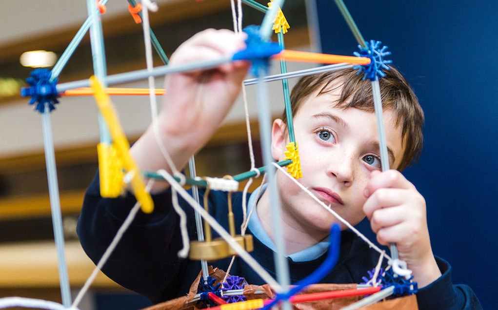 Construction Challenge at W5 family things to do in Ireland this Easter What's On in Belfast