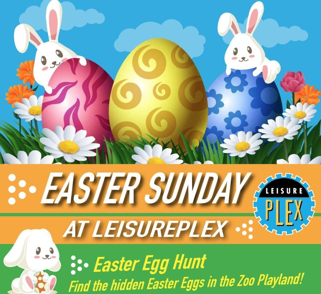 Easter Egg Hunt at Leisureplex