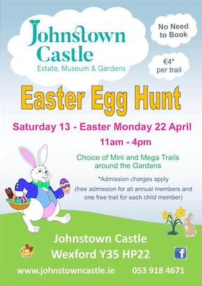 Easter at Johnstown Castle Wexford