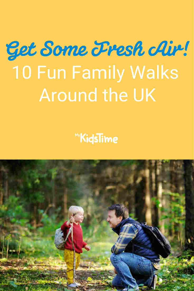 Fun family walks in the UK - Mykidstime