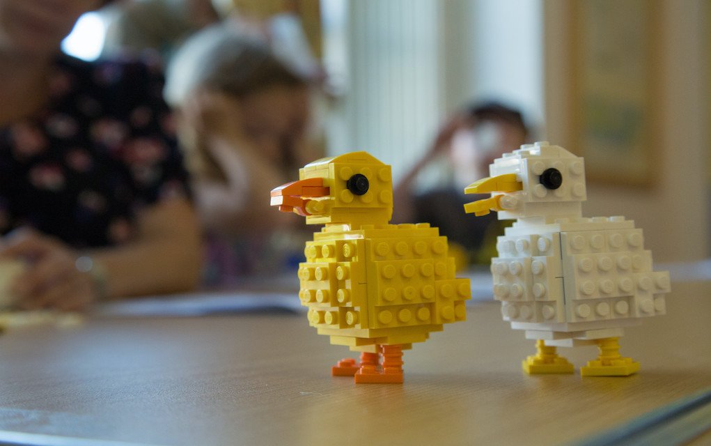 Giant LEGO brick workshops at Castle Espie family things to do in Ireland at Easter What's on in Northern Ireland