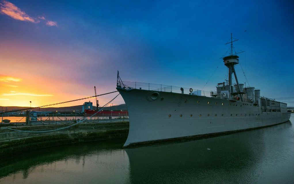 HMS Caroline for Things to do in Belfast with Kids - Mykidstime
