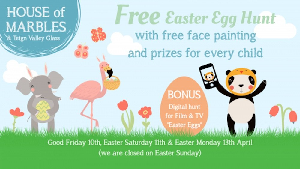 House of Marbles Easter Egg Hunts Easter events for kids and families in the UK