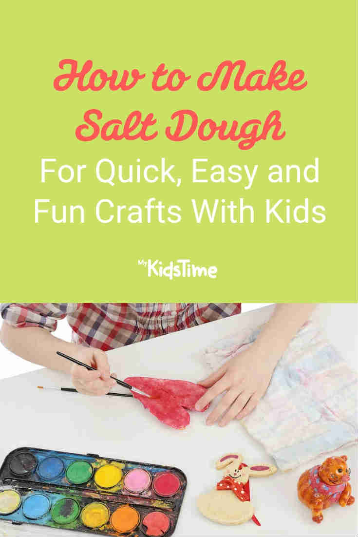 How to Make Salt Dough for Fun Quick and Easy Crafts with Kids - Mykidstime