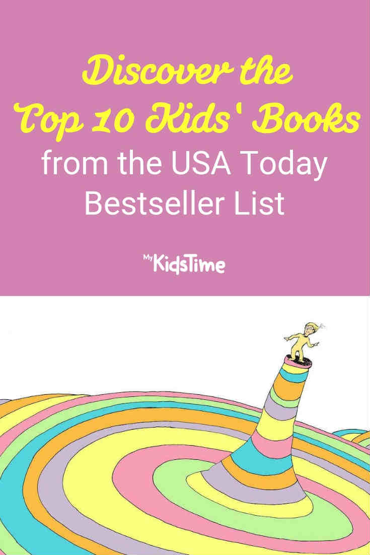 Top 10 Kids' Books on the USA Today bestseller list - Mykidstime