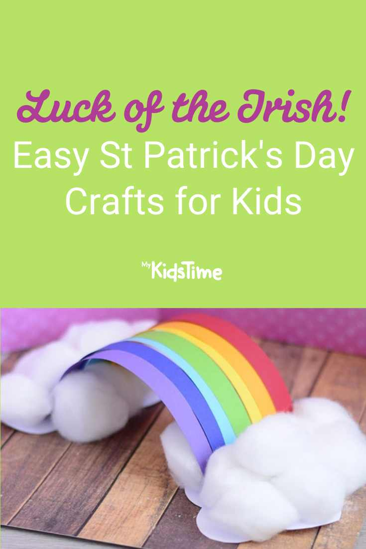Luck of the Irish! Easy St Patrick's Day Crafts for Kids - Mykidstime