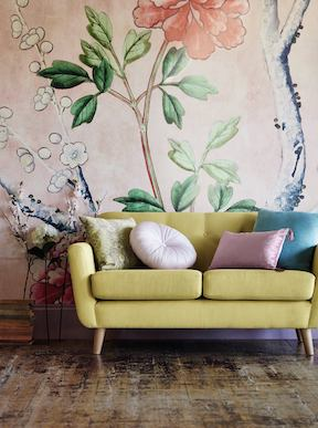 M&S Wall paper give your home a new look for less