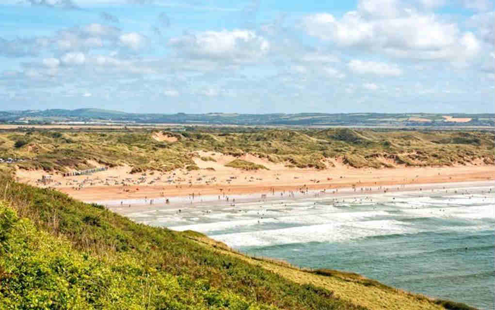 Saunton Sands for best beaches in UK - Mykidstime
