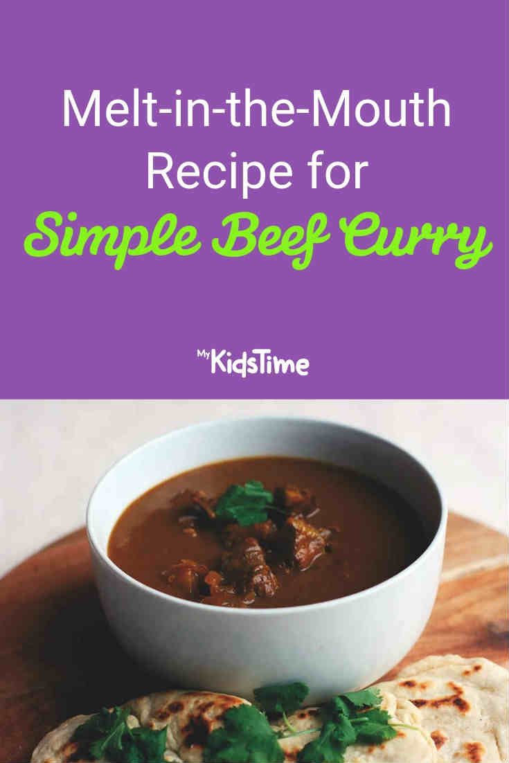 Recipe for Simple Beef Curry - Mykidstime