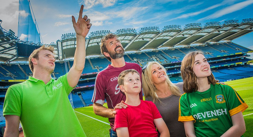 Stadium tours at Croke Park things to do this Summer in Ireland