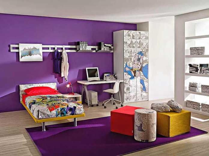 Superhero-Bedroom-Decor-Uk Onmicacademy