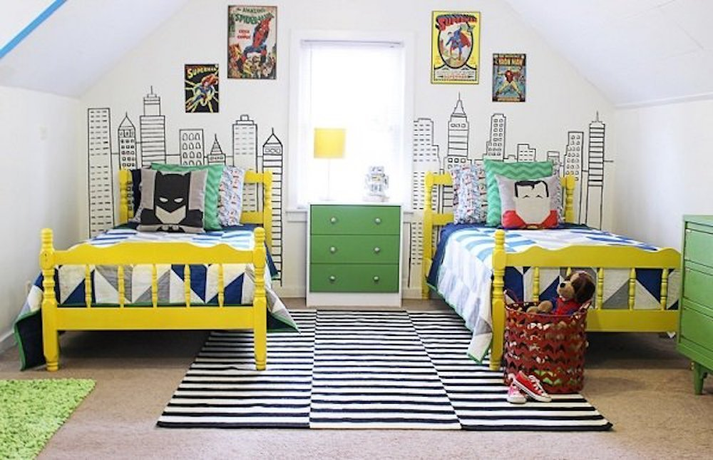 Superhero Bedroom Ideas cuded