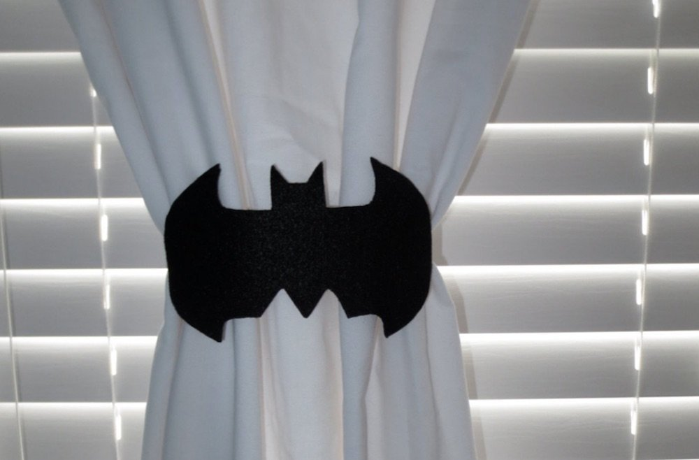 Superhero inspired kids bedroom ideas image from Etsy
