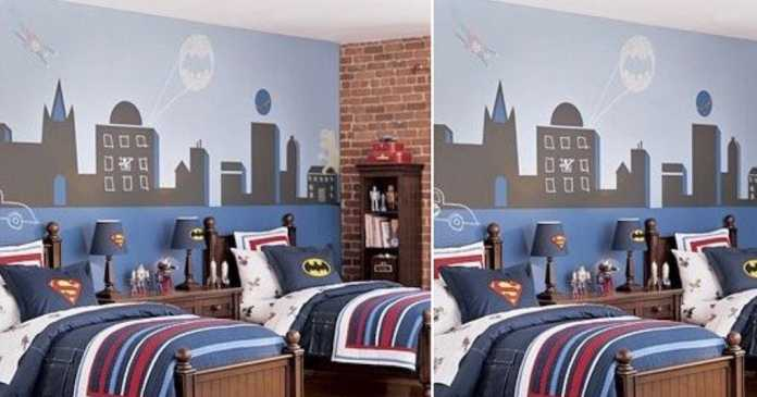 Superhero inspired kids bedroom ideas image from homedit