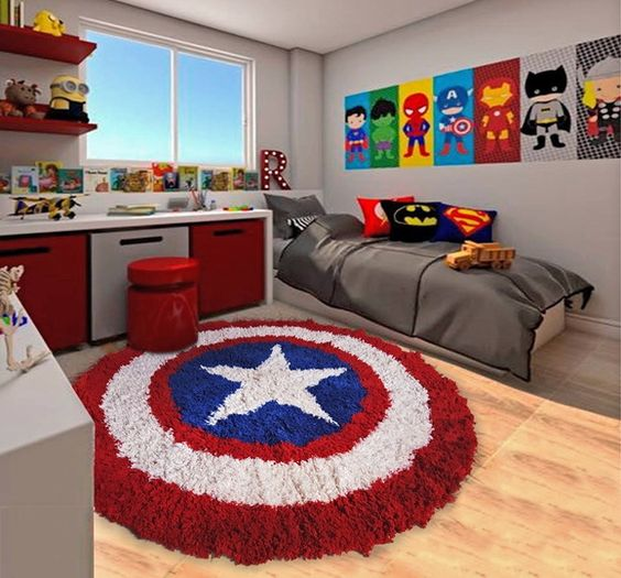 Make A Single Bedroom Special With A Super Stylish: 22 Spectacular Superhero Bedroom Ideas For Kids