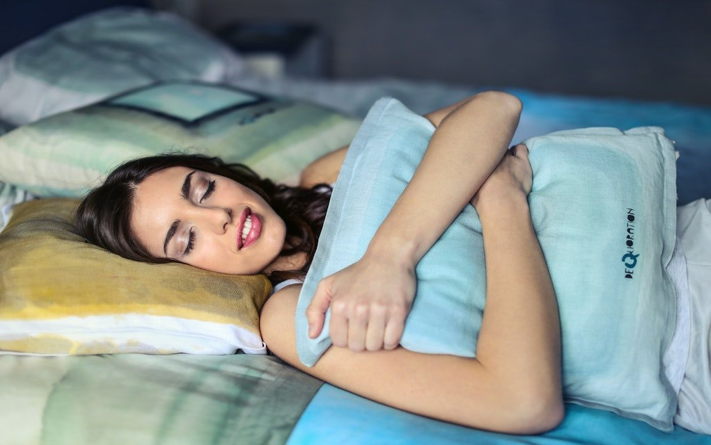 The importance of a good nights sleep woman sleeping