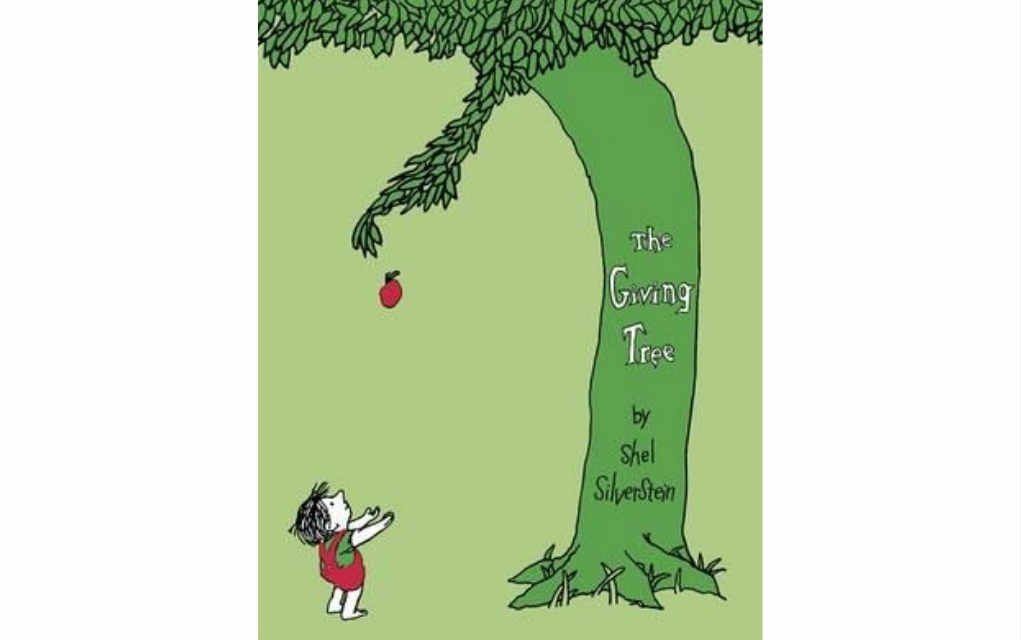 The Giving Tree by Shel Silverstein for USA Today bestseller list of books