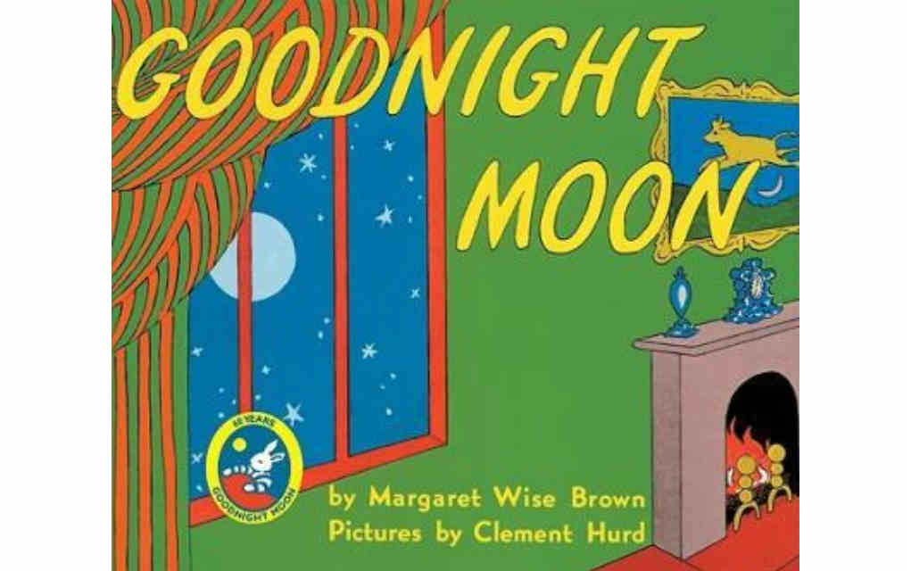 Goodnight Moon by Margaret Wise Brown for USA Today bestseller list of books