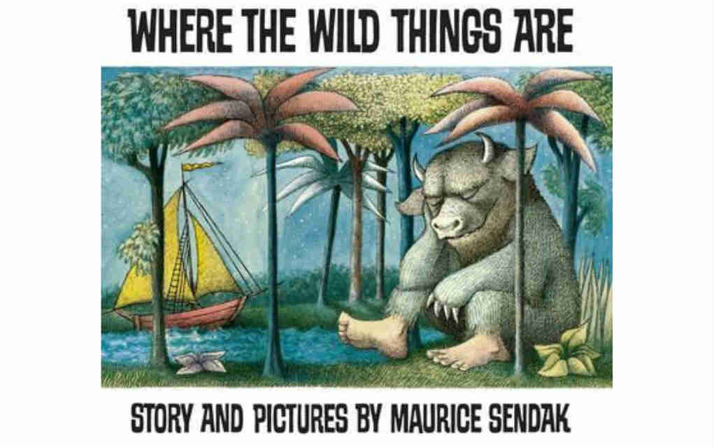 Where the Wild Things Are by Maurice Sendak for USA Today bestseller list of books