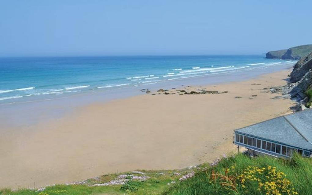 Watergate Bay for best beaches in UK - Mykidstime