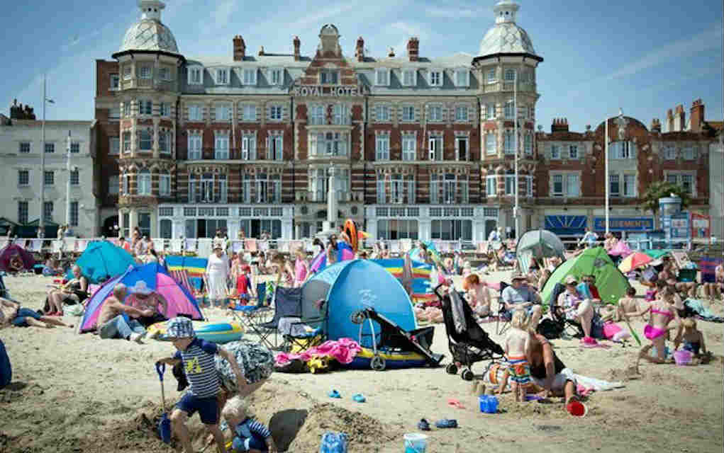 Weymouth for best beaches in UK - Mykidstime