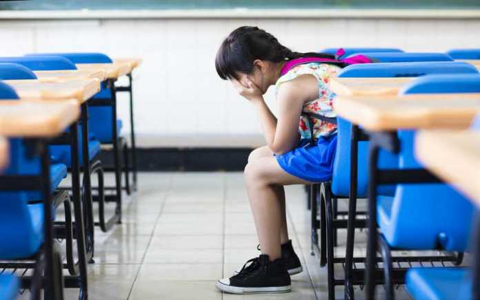 child having difficulty at school