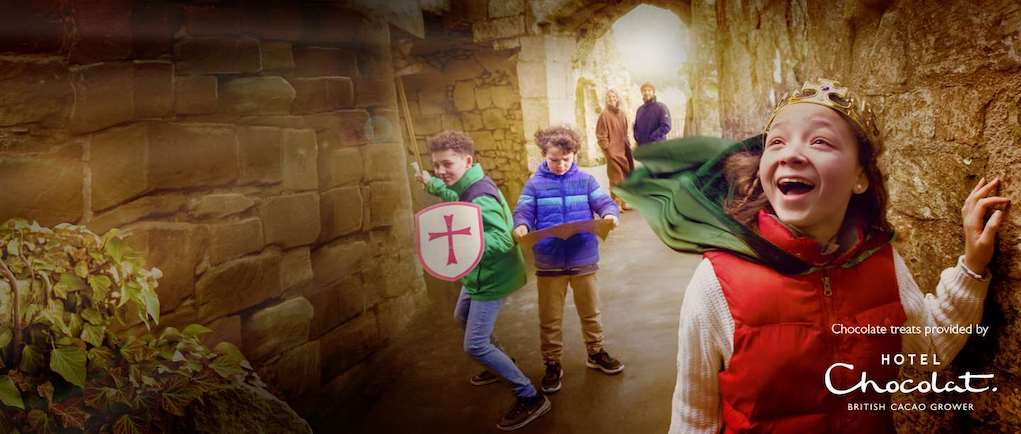 English Heritage Easter Trails Easter events for kids and families in the UK