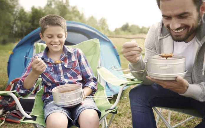 Easy camping meals - Mykidstime