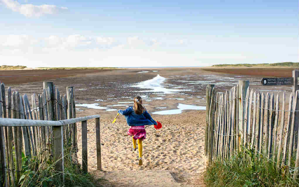 Holkham Beach for best beaches in UK - Mykidstime