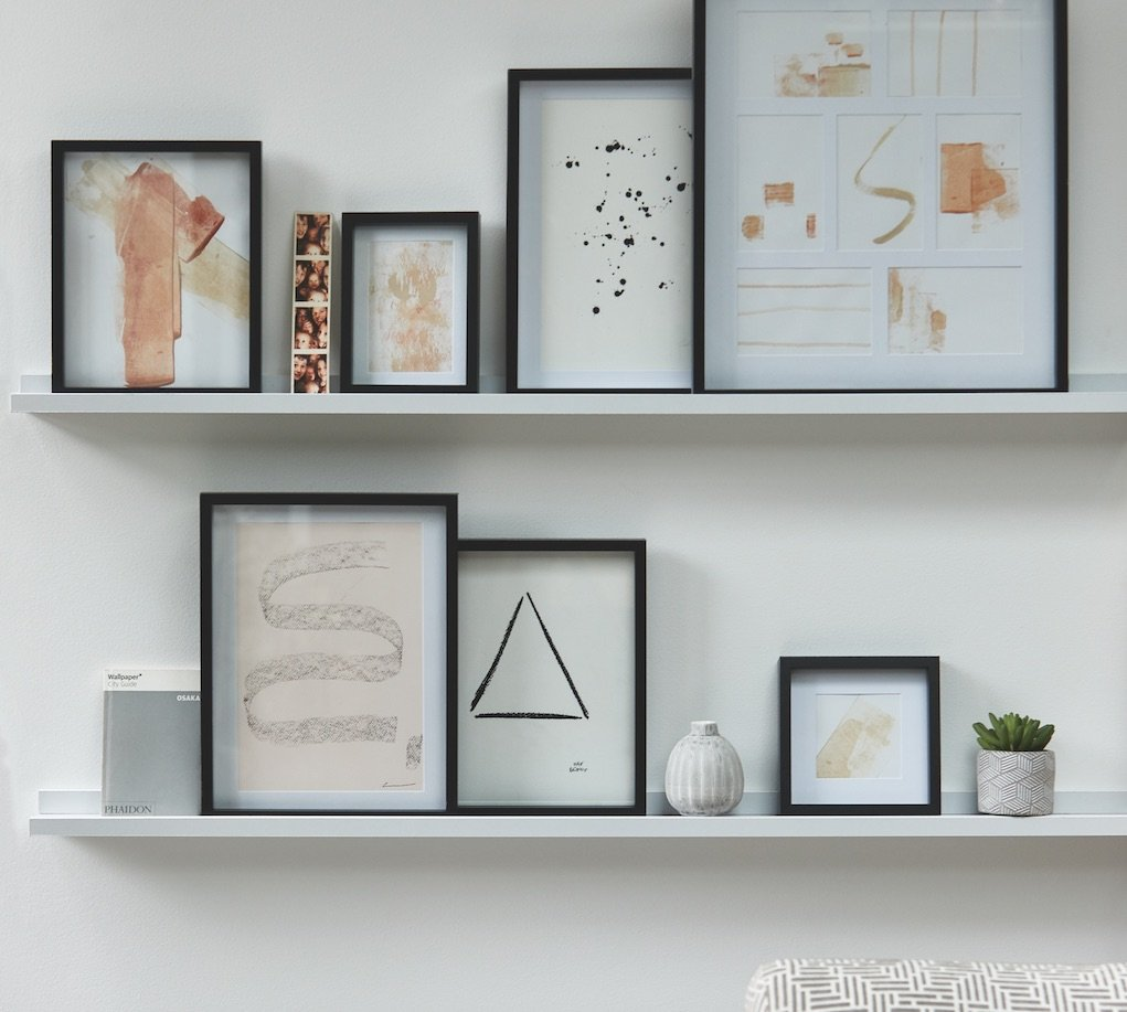 M&S prints and frames Jan 2020 how to give your home a new look for less
