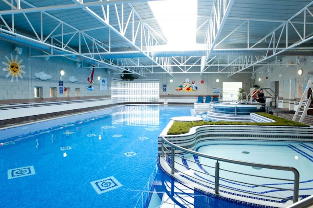 swimming pool at Westport Hotel hotels in Ireland with family activities