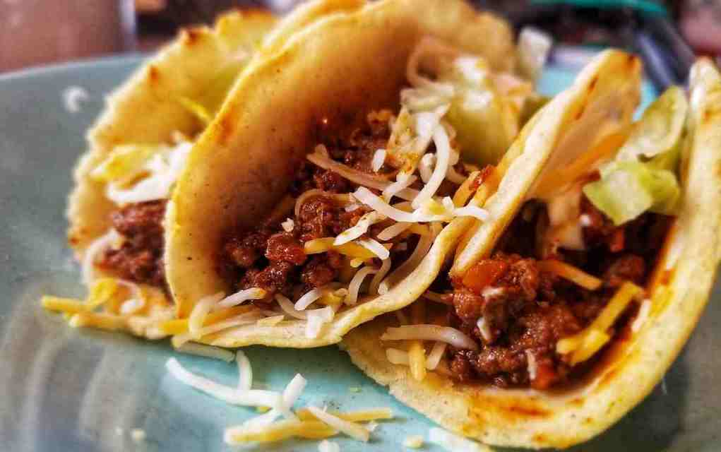 tacos for easy camping meals - Mykidstime
