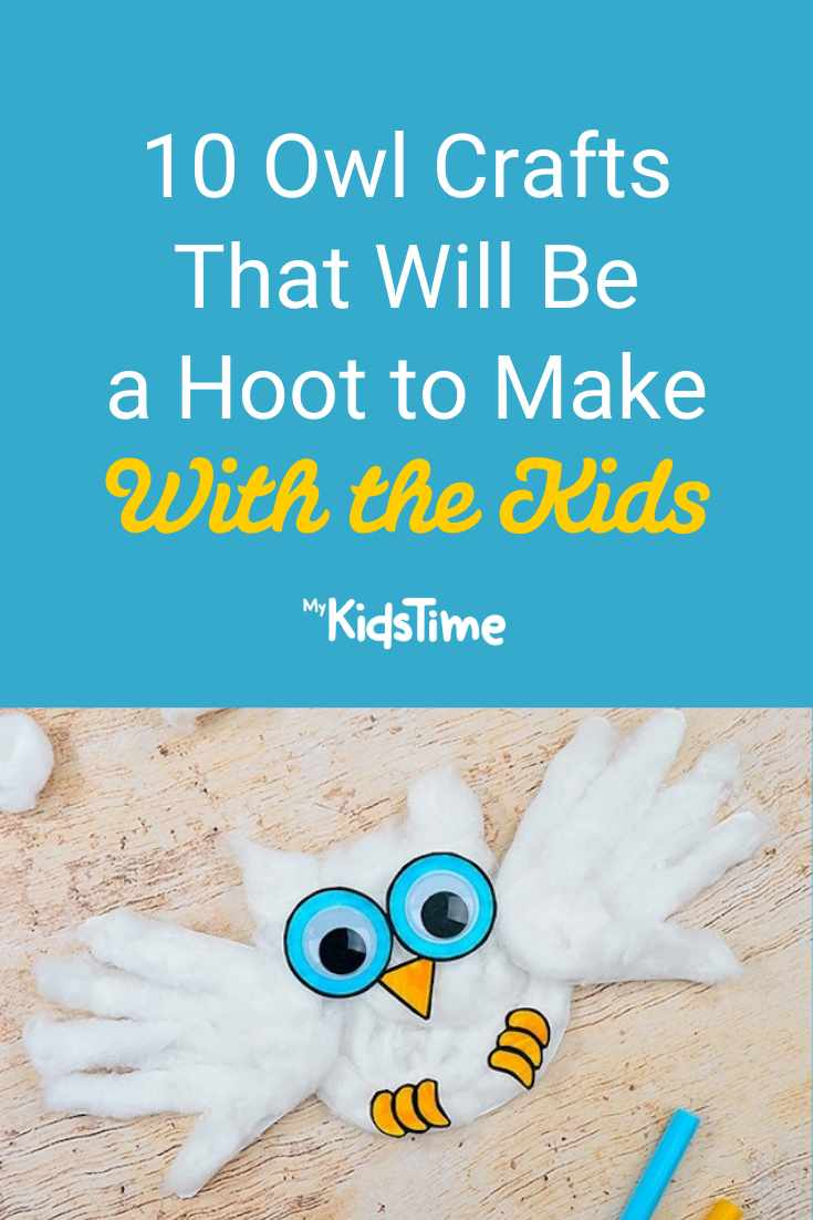 10 Owl Crafts That Will Be a Hoot to Make with the Kids - Mykidstime