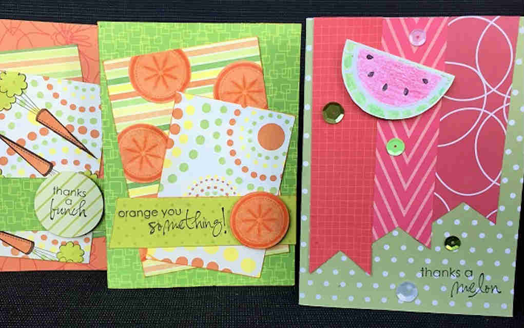 Homemade cards for fabric scrap crafts - Mykidstime