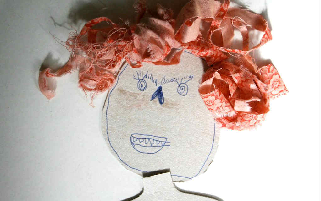 Doll hair for fabric scrap crafts - Mykidstime