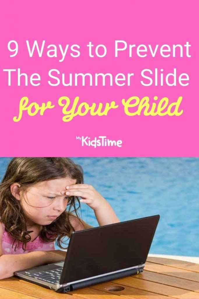9 Ways to Prevent The Summer Slide for Your Child