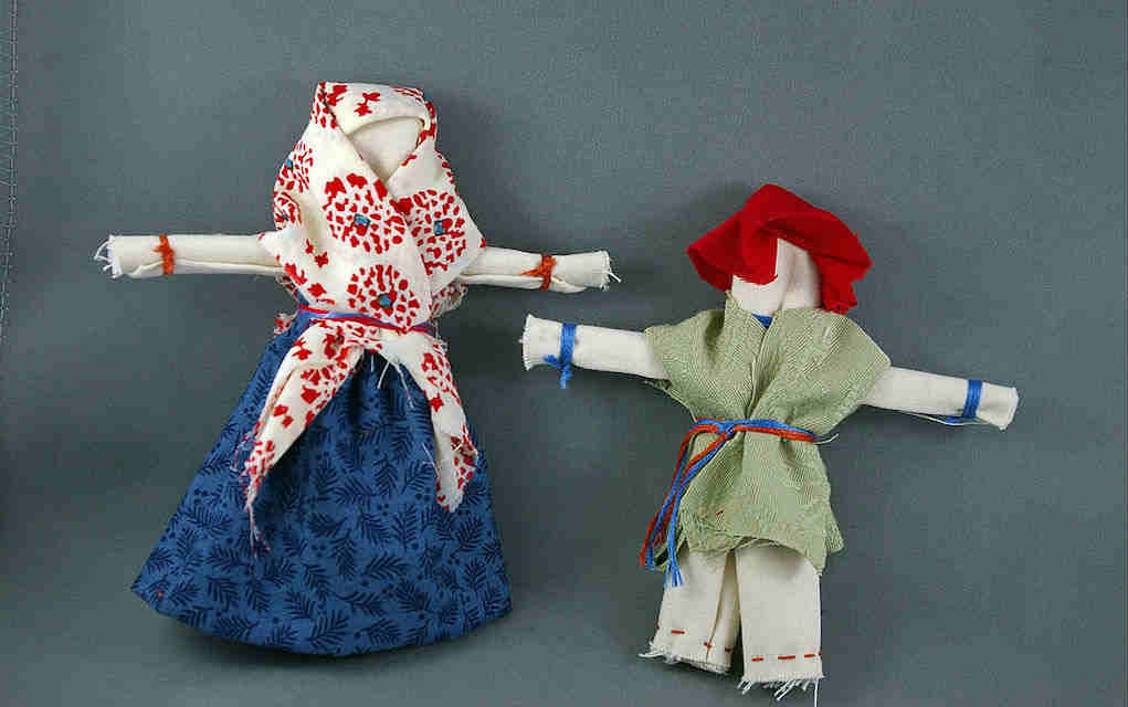 Doll clothes for fabric scrap crafts - Mykidstime