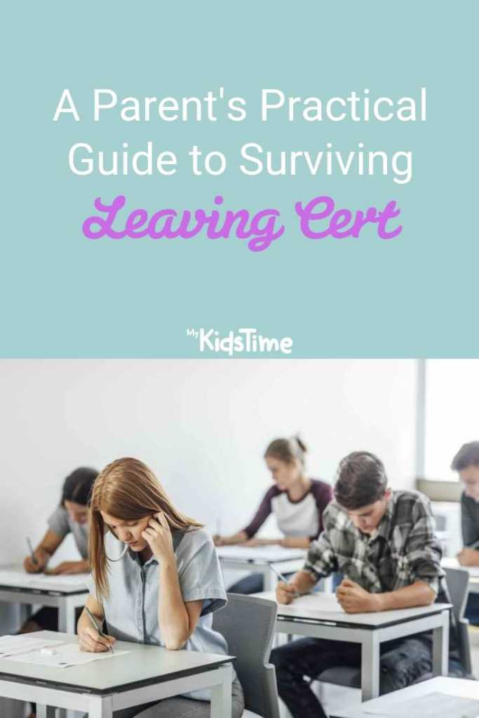 A Parent's Practical Guide to Surviving Leaving Cert