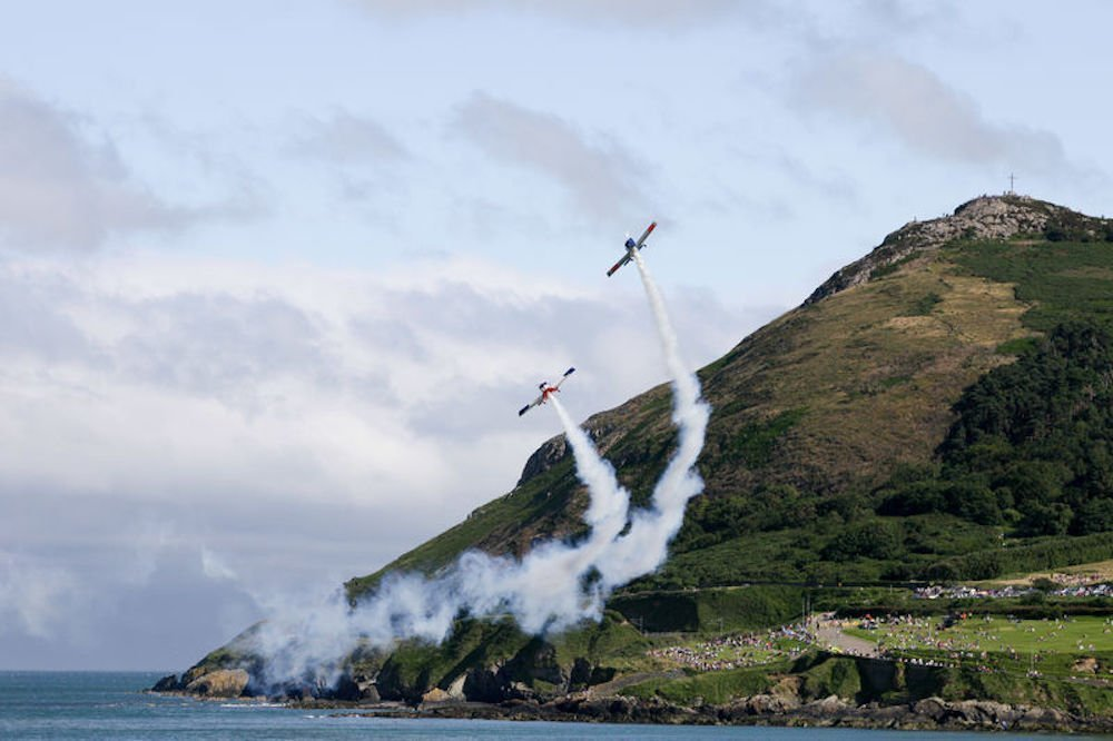 Bray Air Display Fun family events by the water in Ireland