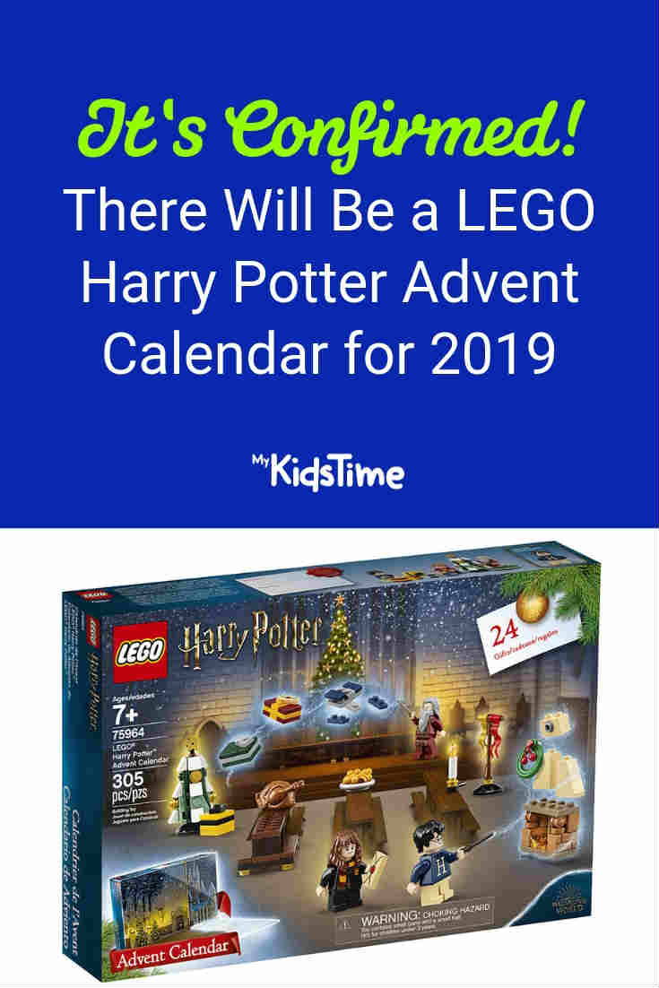 It's Confirmed: LEGO Harry Potter advent calendar for 2019 - Mykidstime