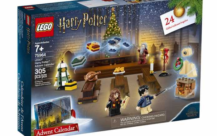 LEGO Harry Potter Advent Calendar for 2019 - Mykidstime