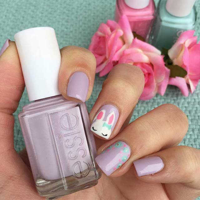Easter nails from Nails Upon A Time - Mykidstime